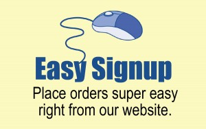 Easy Signup